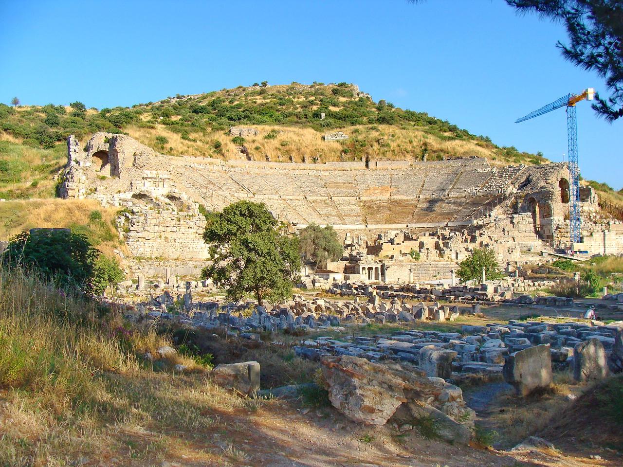 Ephesus Odeion Amphitheater