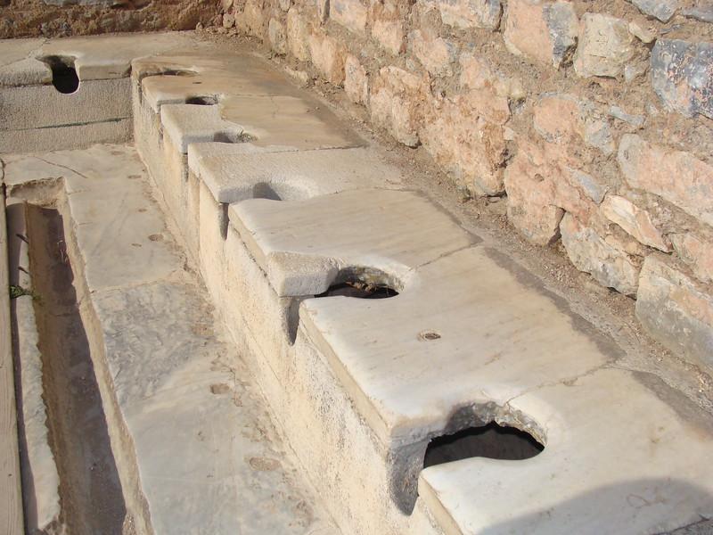 Ancient Public Toilets
