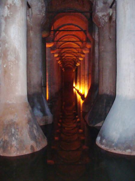 Underground Basilica Cistern