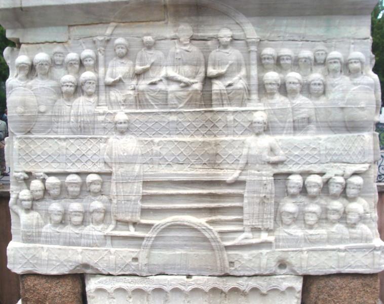 Pharaoh Thutmosis III Obelisk Base 4