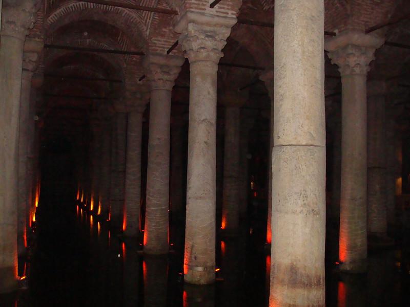 Underground Basilica Cistern or 'Sunken Palace'