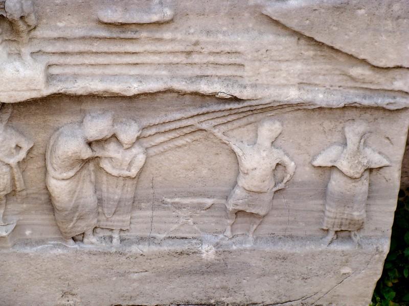 Pharaoh Thutmosis III Obelisk Base 3