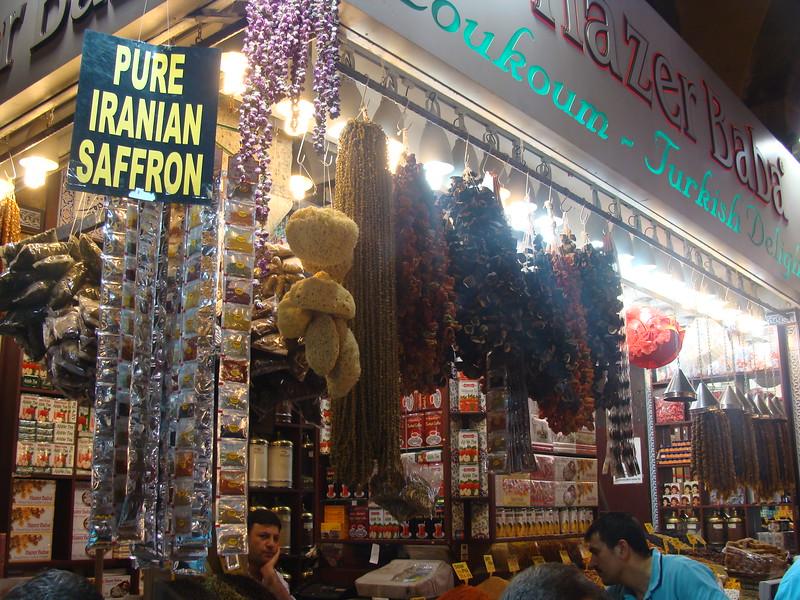 Iranian Saffron, Turkish Coffee, and Tea