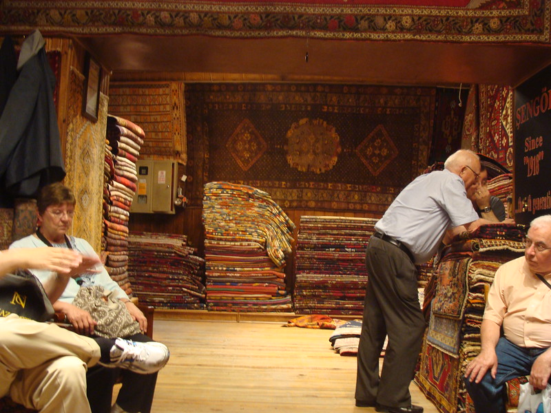 Carpet Shop in the Shouk