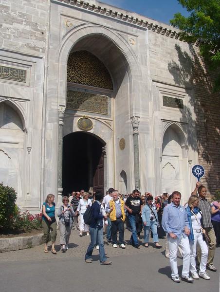 Topkapi Palace Exit