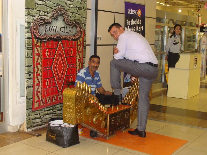 Shoeshine Stand