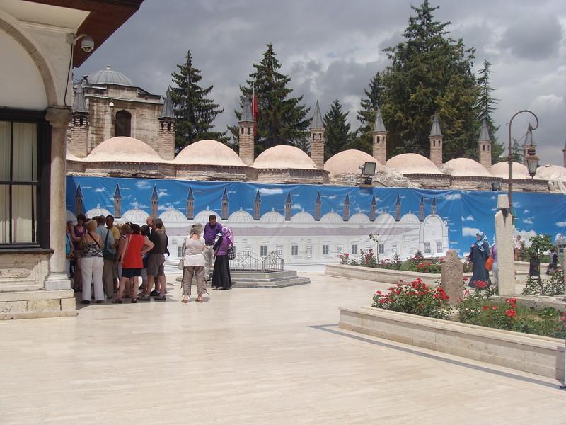 Mevlana Museum Courtyard