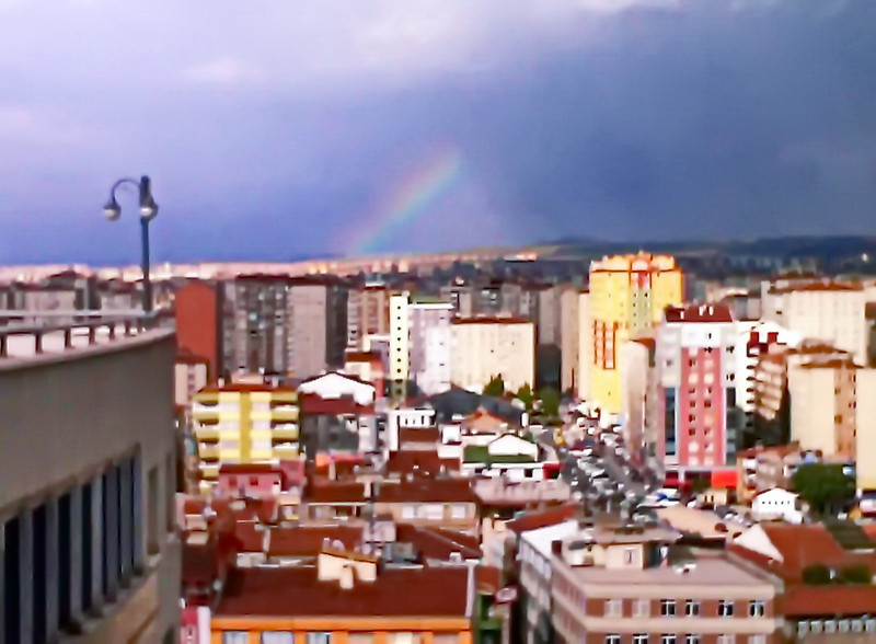 Rainbow over Kayseri