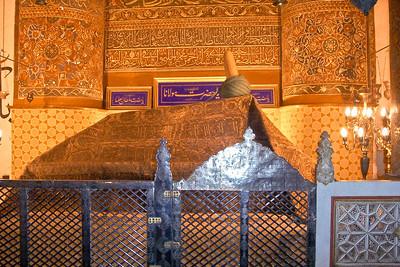 Konya - Mevlana Museum - Rumi's Tomb
