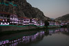 Reflected lights, Amasya, Turkey