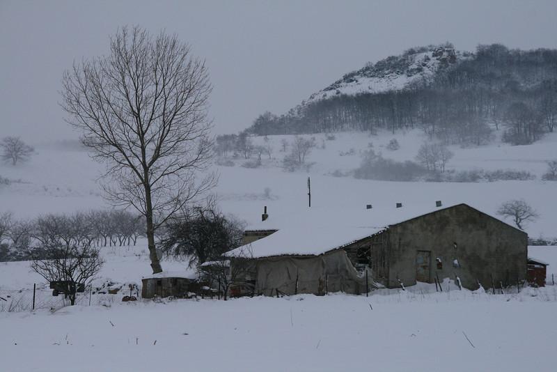 Winter, Derbent, Iznik, Turkey