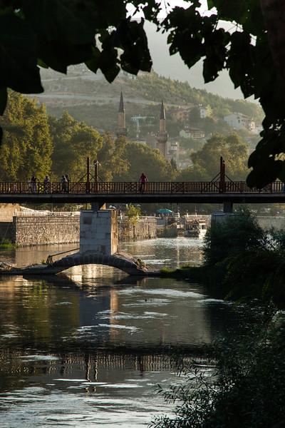 Framed bridge, Amasya, Turkey