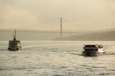 15 July Martyrs Bridge, 15 Temmuz Şehitler Köprüsü, Bosporus Strait, Istanbul, Turkey