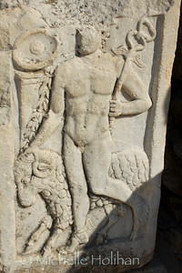 Achilles Carving at Ephesus