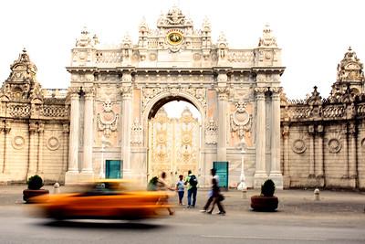 Dolmabahçe Palace, Dolmabahçe Sarayı, Istanbul, Turkey
