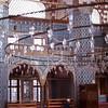 Man prays in Rüstem Pasa Mosque, Istanbul, Turkey