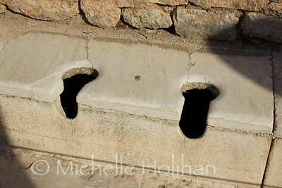 Roman Toilets at Ephesus