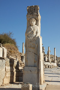 Hercules Carving at Ephesus