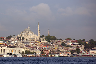 Hagia Sophia, Ayasofya Müzesi, Bosporus Strait, Sea of Marmara, Istanbul, Turkey