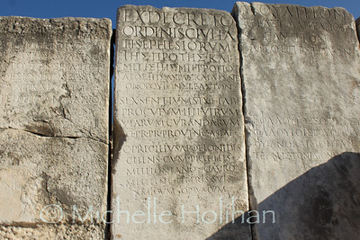 Latin and Greek Tablets at Ephesus