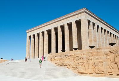 Hall of Honor at Atatürk Mausoleum
