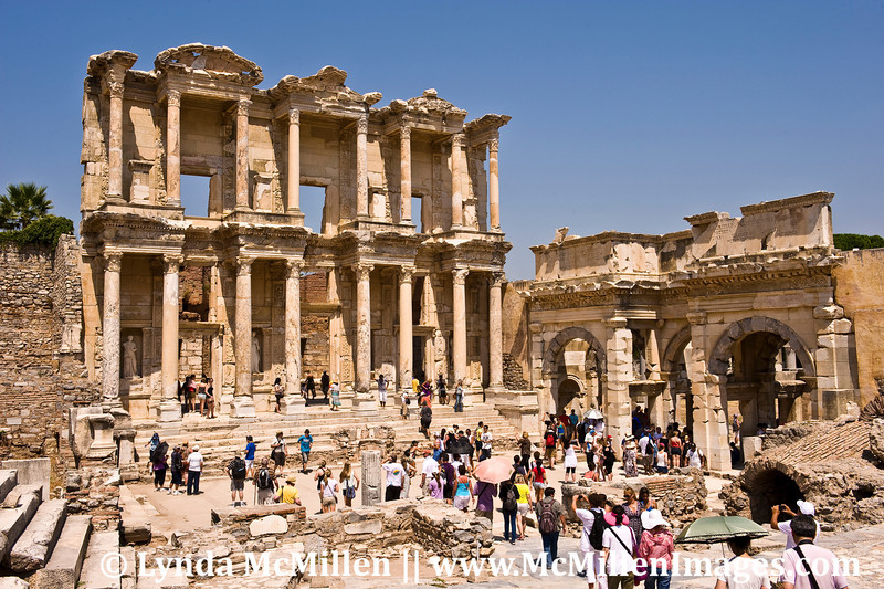 The Library of Celsus was built in AD 114-117.
