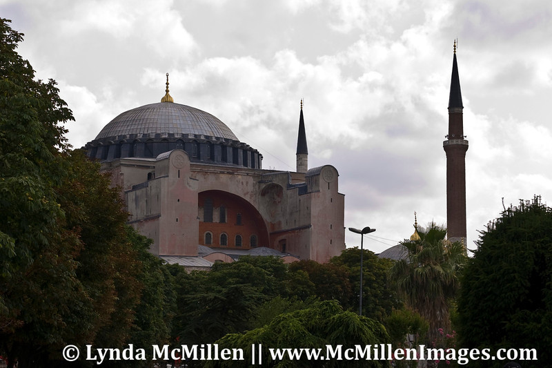 "The ""church of holy wisdom"", was converted into a mosque by the Ottomans in the 15th century."
