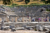 The Odeon (meeting hall) was built 150 AD.  A greek city has been located here dating to 1000 BC.