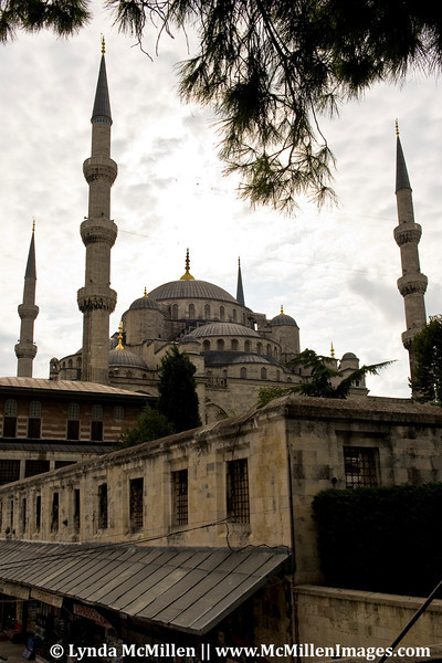 The Blue Mosque is the only mosque with six minarets.