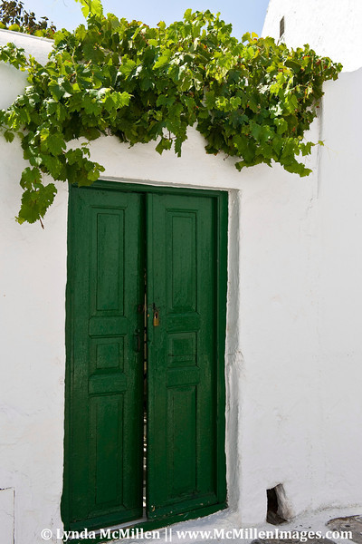 Colorful doors, windows and stairways!  Mykonos, Greece