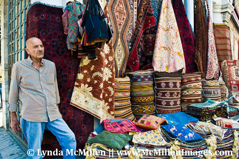 Goods and wares from all over Turkey and Central Asia are sold at the Grand Bazaar.