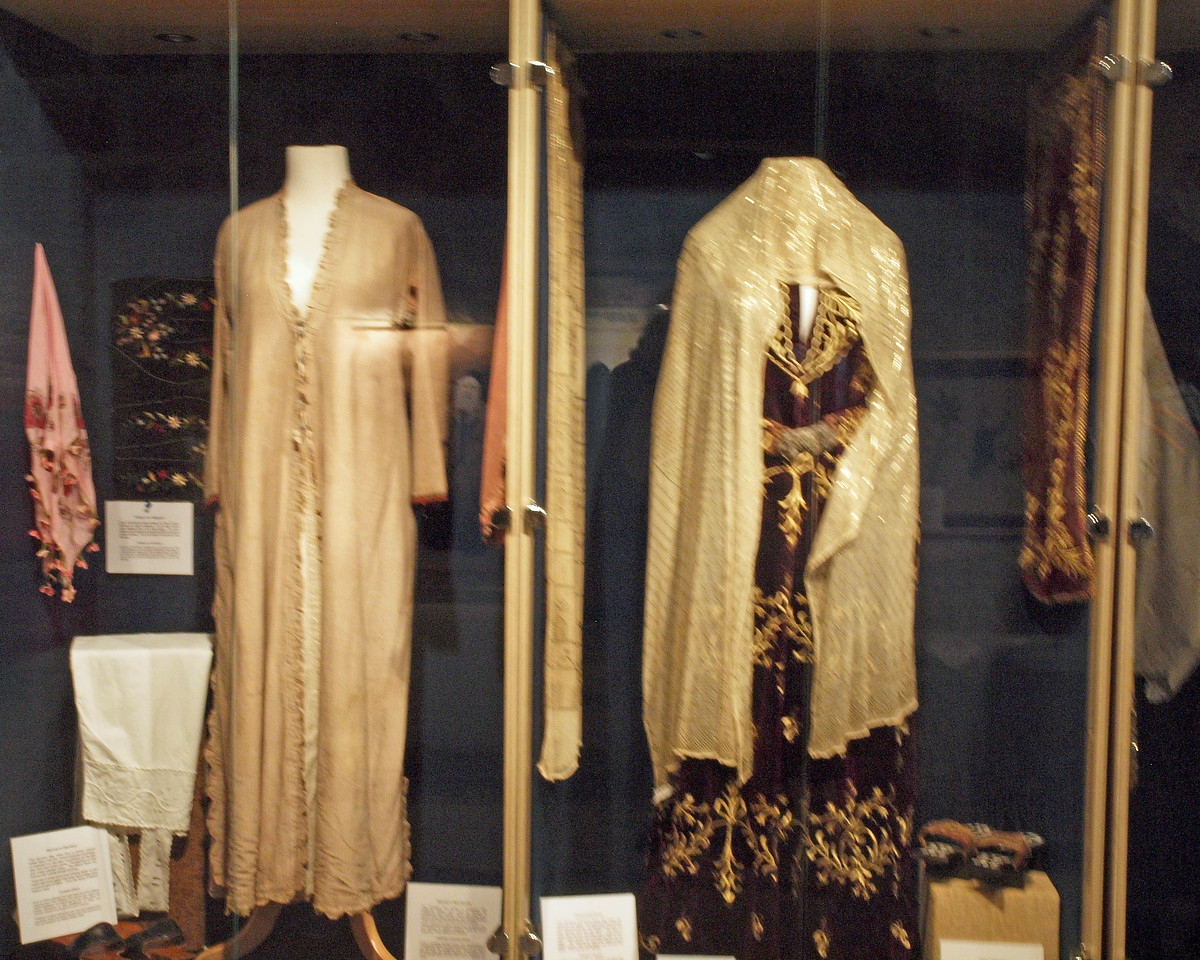 Wedding Garments from the turn of the 20th. Century