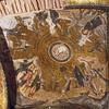 Mosaic ceiling Church of the Holy Savior (Kaiye Museum). Istanbul  Depicts the  temptations of Christ by Satan