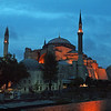 Haghia Sophia at night