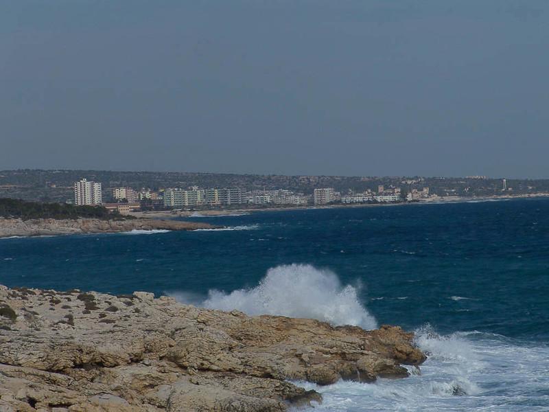 Seaside view of Mersin