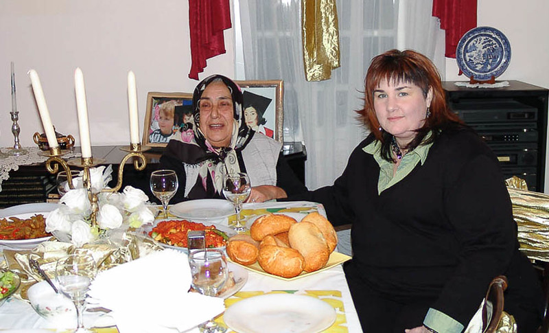 Engagement party with family in Mersin