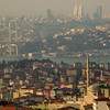 Bhosphors Bridge and city view, Istanbul