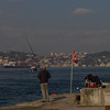 fishing on the Bosphorus, Istanbul