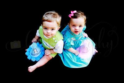 Turner twins 1st Birthday
