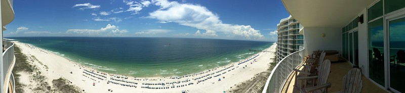 BALCONY PANORAMIC VIEW...VacationsByDana@yahoo.com, 832.758.2331