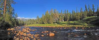 San Joaquin River, Sierra Nevada Mountains, CA