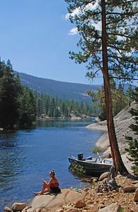 Florence Lake, Sierra Nevada Mountains, California