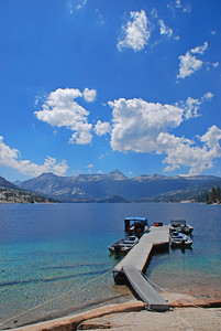 Florence Lake, Sierra Nevada Mountains, California