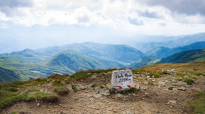 Monte Prado peak