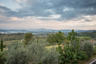 The view from Villa Tizzano