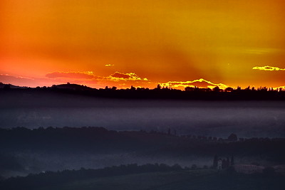 Sunrise begins