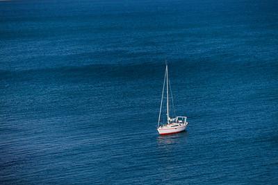Yacht, Tuscany, Italy