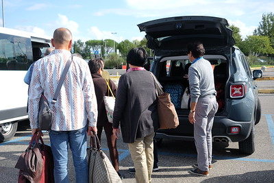 Loading up for Palagione Volterra