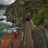 Train tracks in Vernazza