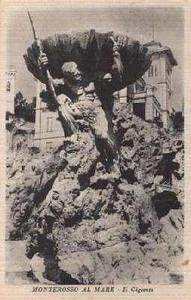 Monterosso Neptune, before damage